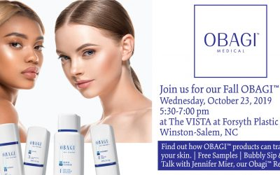 Join Us for our OBAGI™ Event on Wednesday, October 23