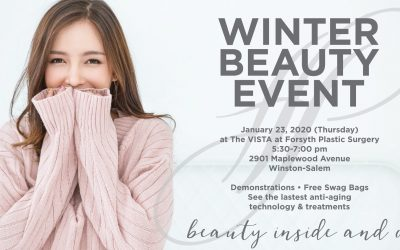 Join us for our Winter Beauty Event on Thursday, January 23 from 5:30-7:00 pm