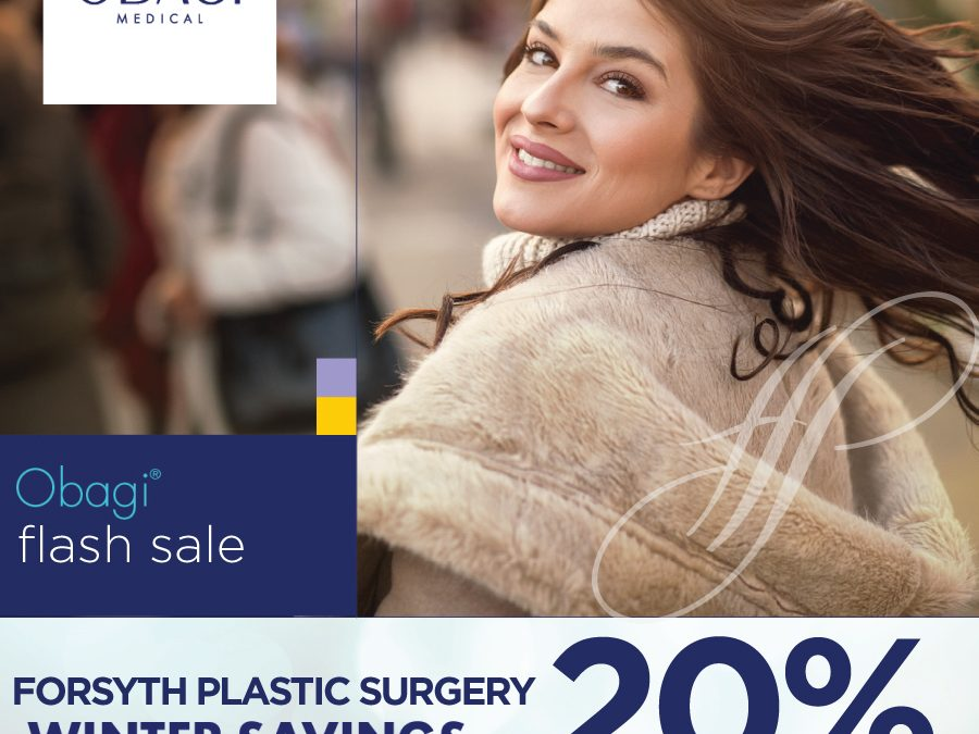 OBAGI Flash Sale! Save 20% of ALL OBAGI products February 17-21, 2020